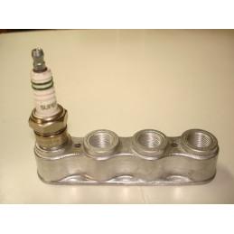 SB01 Support aluminium 4 bougies de 14