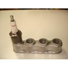 SB03 Support aluminium 4 bougies de 18