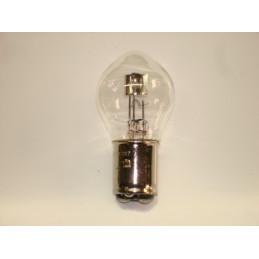 """L0608 Lampe """"Bosch"""" 2 plots 2 ergots plats blanche BA20D 40/45 W 6 Volts"""