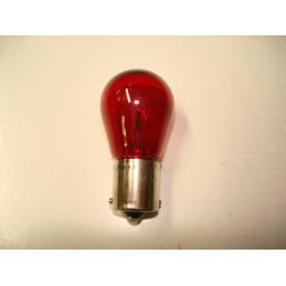 L1237 Lampe poirette rouge BA15s 21 W 12 V