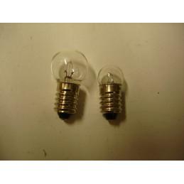 L1241 Lampe témoin à vis E10 2 W 12 Volts