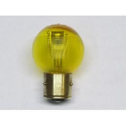 L1233 lampe 2 plots 3 ergots BA21D jaune 12 volts 36/36W dispersive