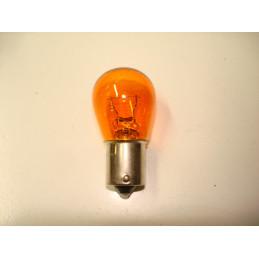 L0648 Lampe poirette ambre BA15s 21 W 6 Volts