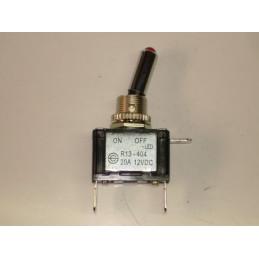 IC50V Inter à levier temoin lumineux à led VERT