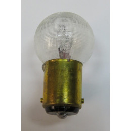 L0618 Lampe sphèrique BA15d ergots non décalés 18/4 W 6 Volts