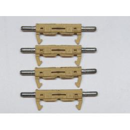 FU03/16R 4 fusibles SIMCA 16 Amp.cosses rondes