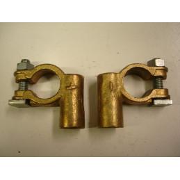 CB17/8 paire de cosses de batterie à souder coudée trou de 8 mm