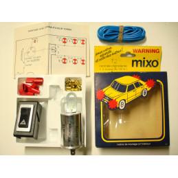 KW01 Kit warning 6 Volts MIXO