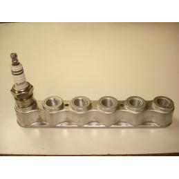 SB02 Support aluminium 6 bougies de 14