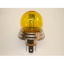 L0602 lampe code européen jaune 6 volts