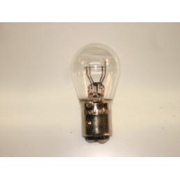L0616 Lampe poirette BA15d ergots décalés 21/5 W 6 Volts