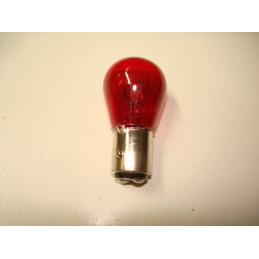 L1238 Lampe poirette rouge BAY15d ergots décalés 21/5 W 12 V