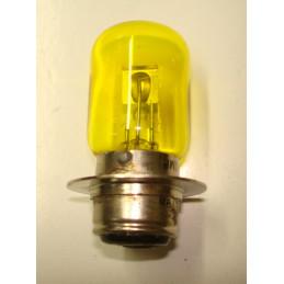 """L1250 Lampe P22D jaune12 Volts 40/45 W à collerette type """"Lucas"""""""