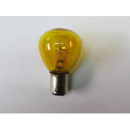 L0654 LampeBA15d 6 Volts 36/36 W jaune 2 plots 2 ergots