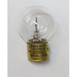 L1262 lampe 1 plot 3 ergots BA21S blanche 12 volts 75W