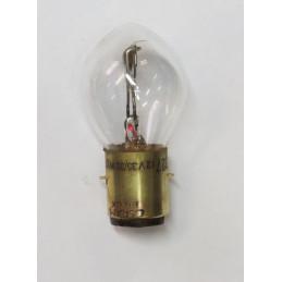 """L1264 Lampe """"Bosch"""" 2 plots 2 ergots plats blanche BA20D 35/35 W 12 Volts"""