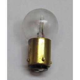 L0661 Lampe sphèrique BA15d 12 V 2 plots 3 ergots 18/4W 6 Volts