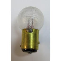 L0664 Lampe sphèrique BAY15d ergots décalés 18/4 W 6 Volts