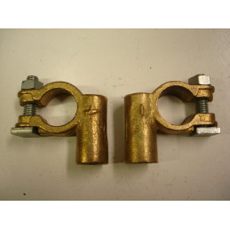 CB17/10 paire de cosses de batterie à souder coudée trou de 10 mm